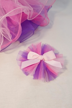 Dasha Tricolor Tutu W/hairclip - Alternate List Image