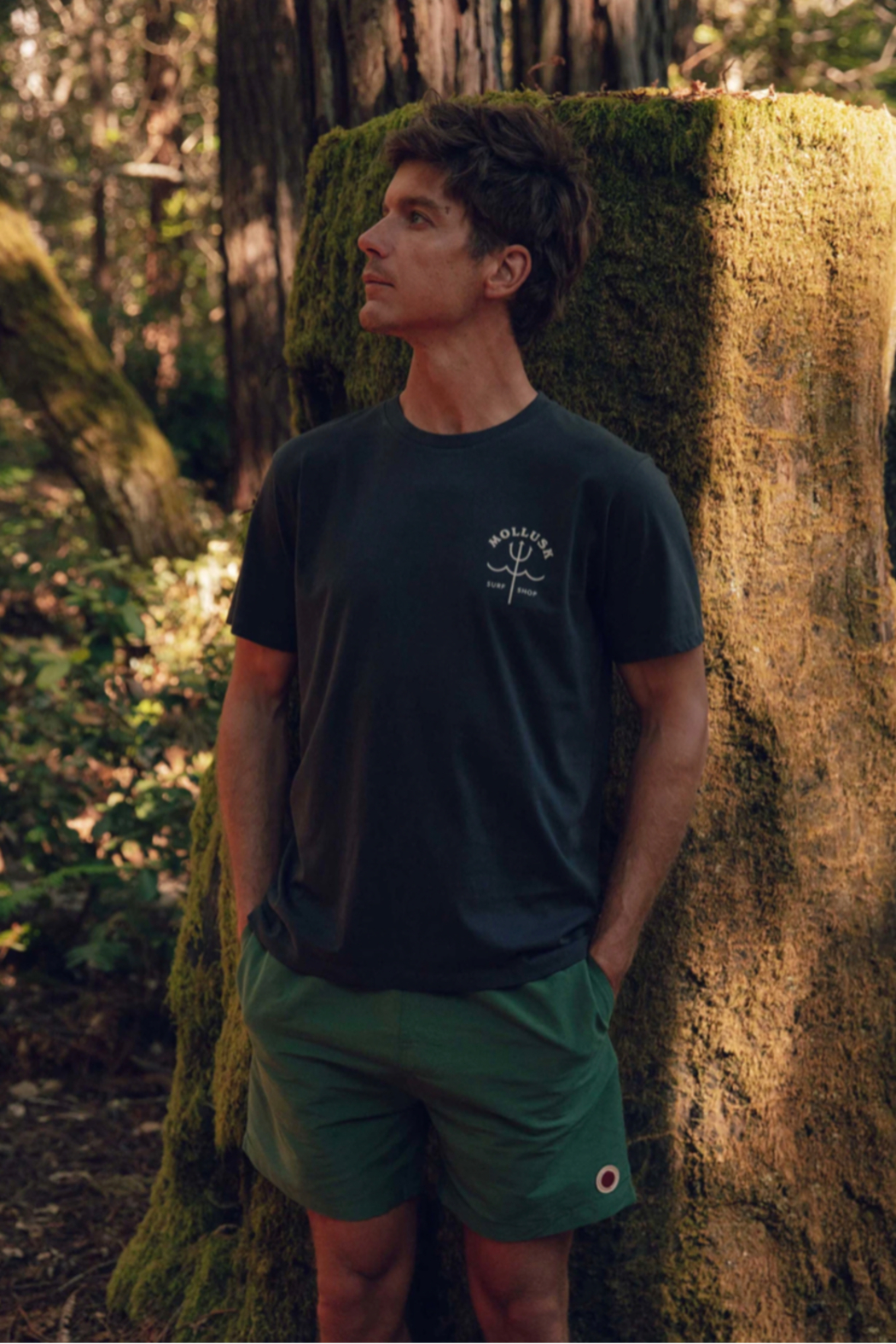 Mollusk Trident Tee - Front Full Image
