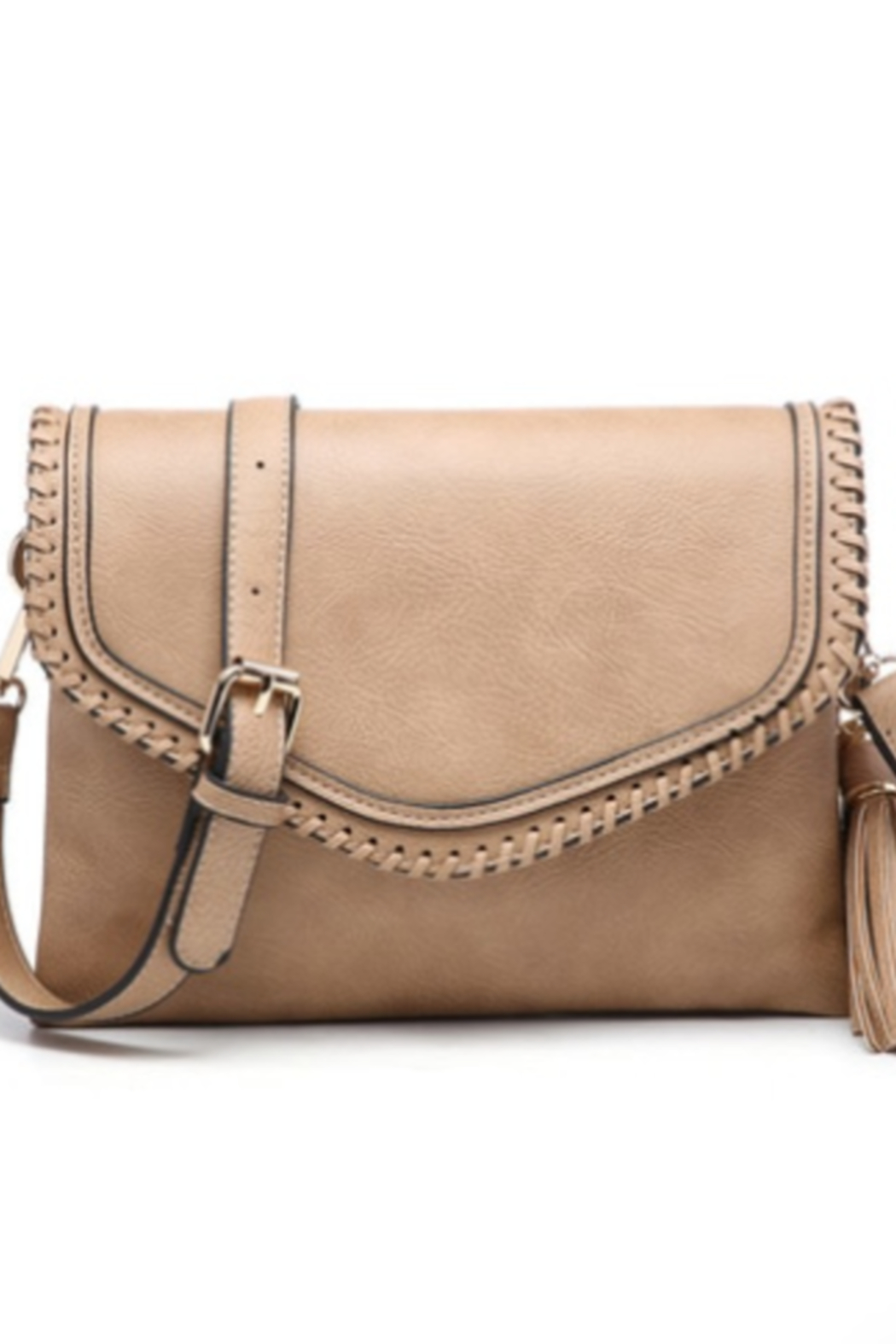 jen & co Trim Envelope Crossbody/Clutch - Main Image