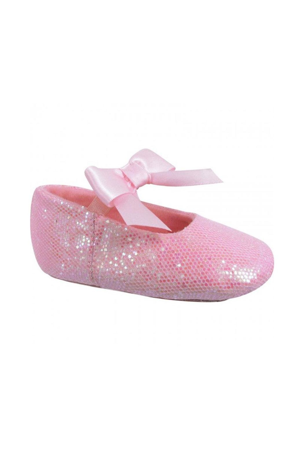 Trimfoot Glitter Ballet Shoe - Front Cropped Image