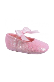 Trimfoot Glitter Ballet Shoe - Front cropped