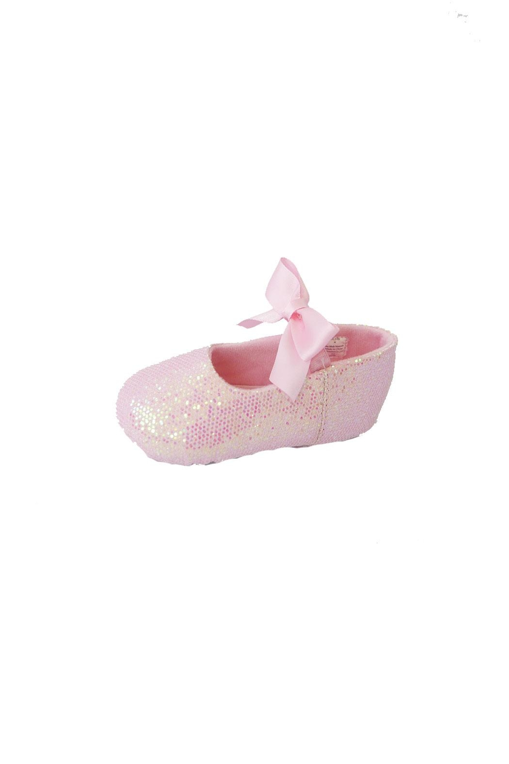 Trimfoot Glitter Ballet Shoe - Side Cropped Image