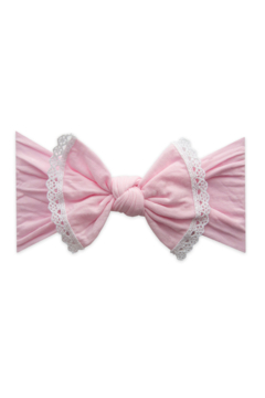 Baby Bling Trimmed Classic Knot Lace - Alternate List Image