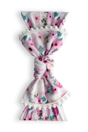 Baby Bling Trimmed Printed Knot - Product Mini Image