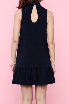 Trina by Trina Turk Navy Sleeveless Dress - Alternate List Image