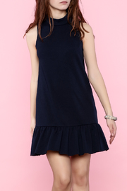 Trina by Trina Turk Navy Sleeveless Dress - Product Mini Image