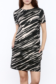 Trina by Trina Turk Zebra Mini Dress - Product Mini Image