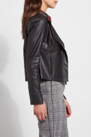 Lysse Trina Faux Leather Jacket - Front full body