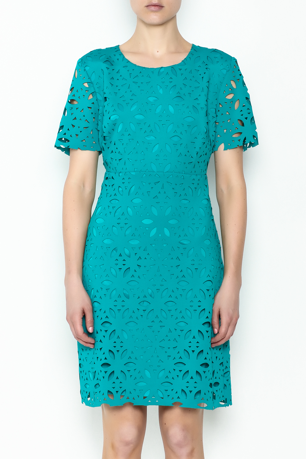 Trina Turk Dynamix Dress - Front Full Image