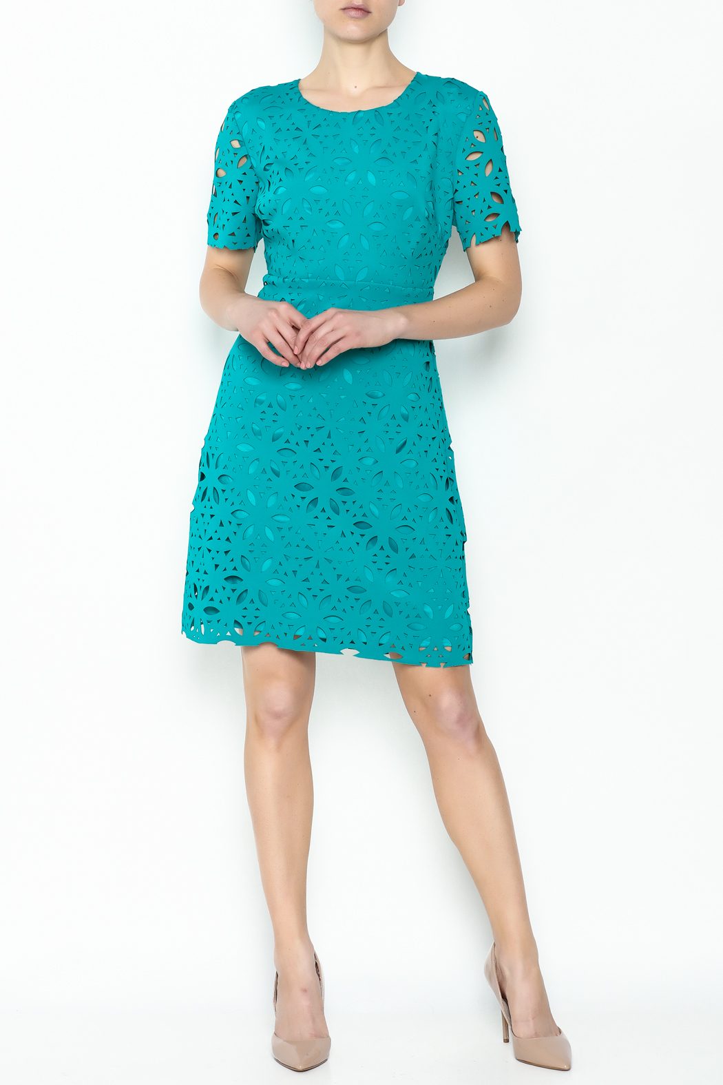 Trina Turk Dynamix Dress - Side Cropped Image