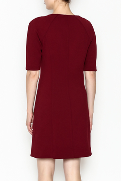 Trina by Trina Turk Kane Zip Front Diamond Ponte Dress - Alternate List Image