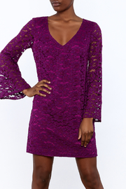 Trina Turk Purple Revue Dress - Front cropped