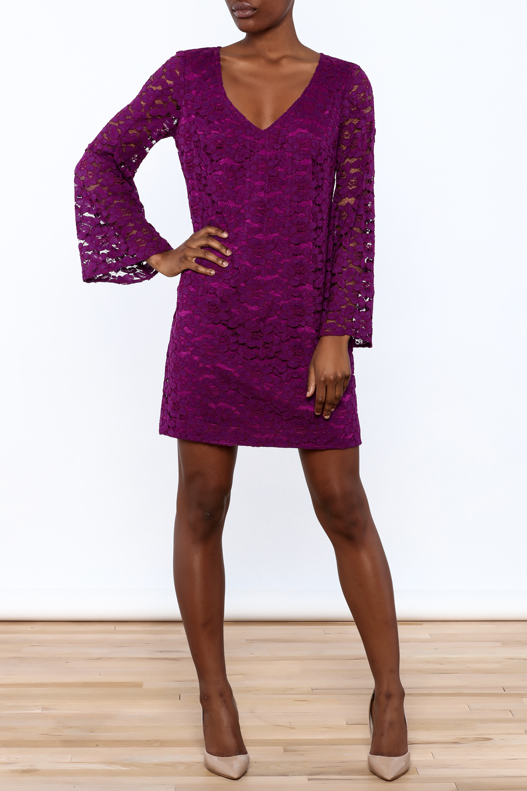 Trina Turk Purple Revue Dress - Main Image