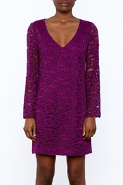 Trina Turk Purple Revue Dress - Side cropped
