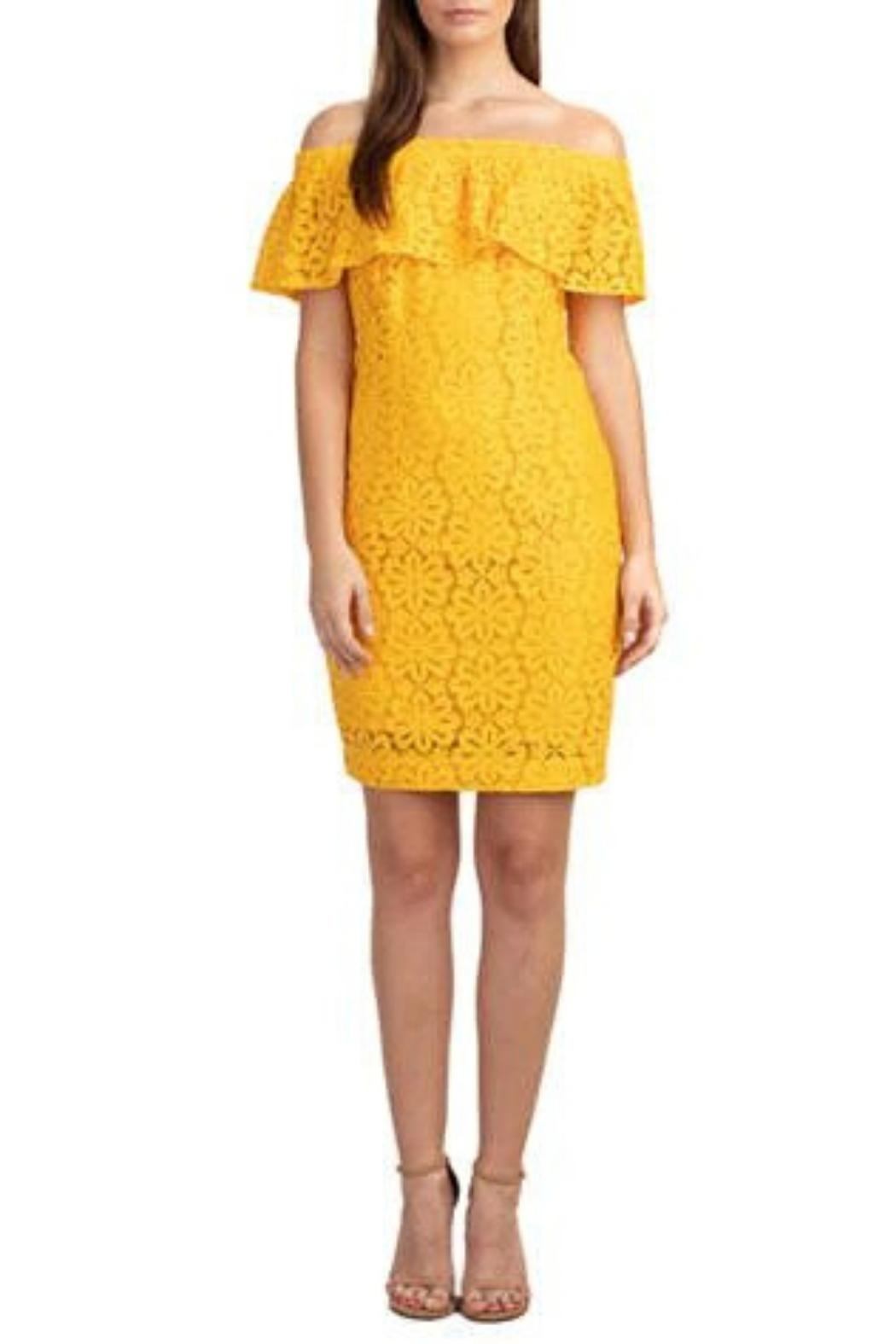 Trina by Trina Turk Floral Off-The-Shoulder Dress - Main Image