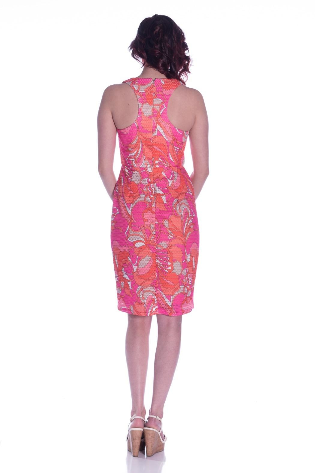 Trina by Trina Turk Luring Dress - Front Full Image