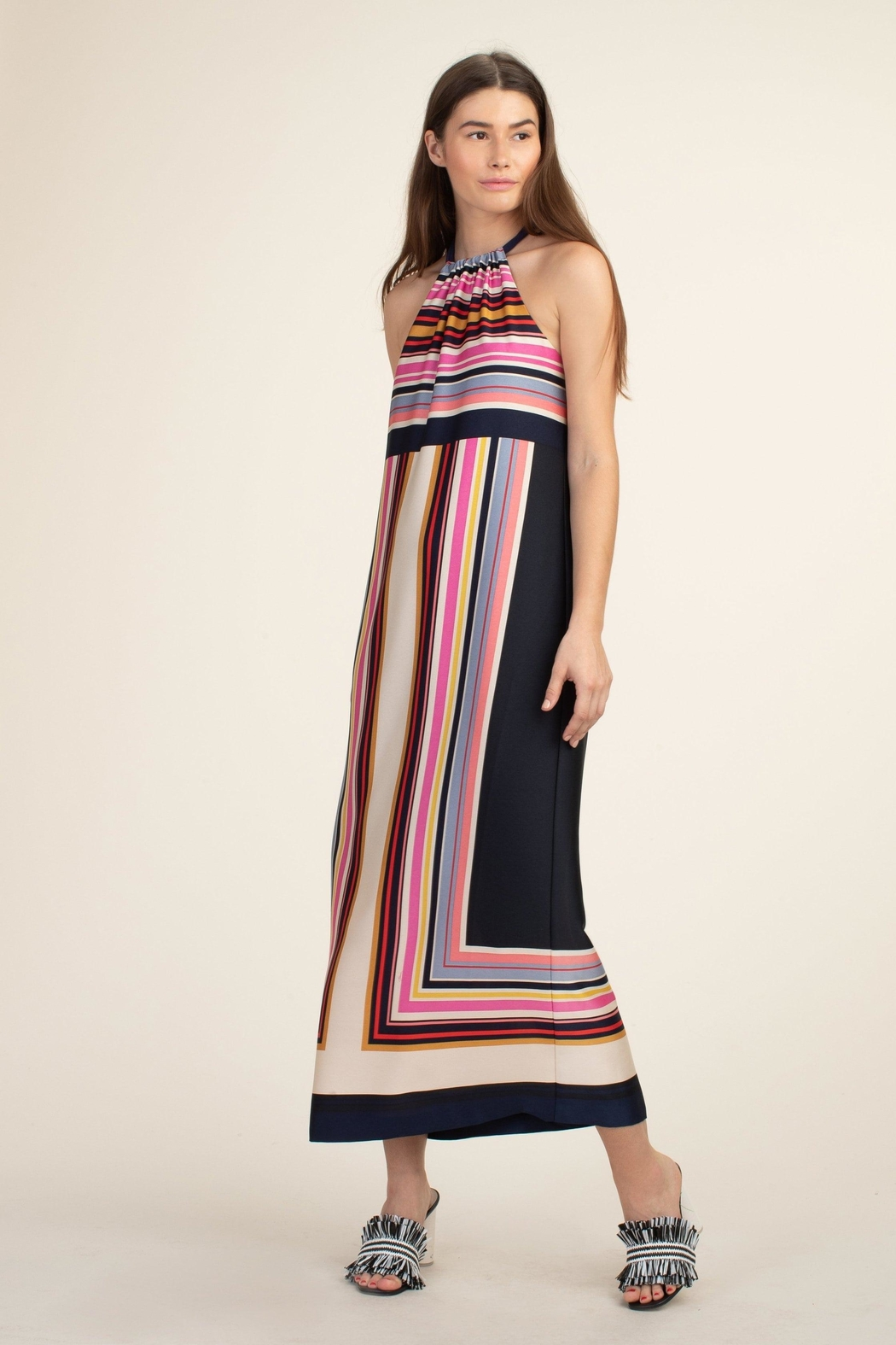 Trina Turk Maxi Rancho Dress - Side Cropped Image
