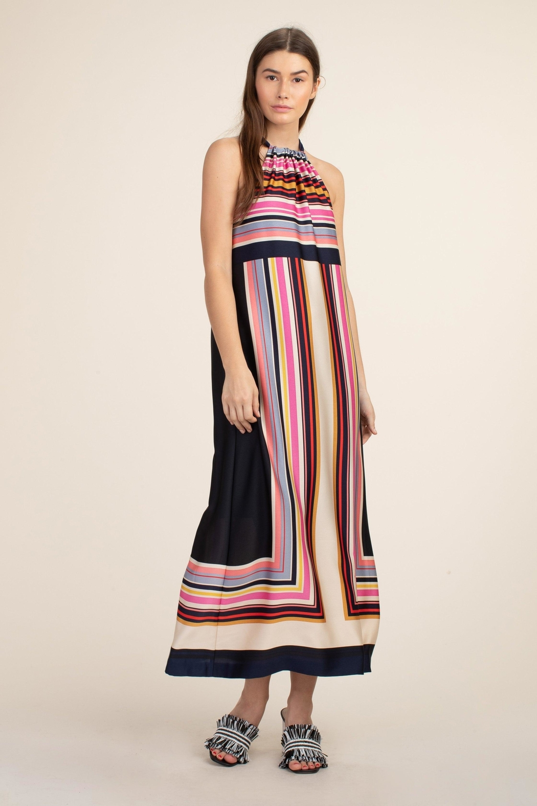 Trina Turk Maxi Rancho Dress - Front Cropped Image