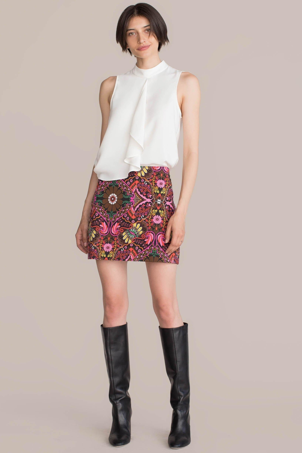 Trina Turk Rico 2 Skirt - Side Cropped Image
