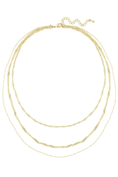 Shoptiques Product: Trinity Layered Necklace