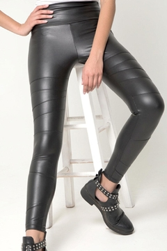 Shoptiques Product: Trinity Vegan-Leather Legging
