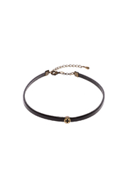 Trinkets for D Leather Antiquated Cross Choker - Product Mini Image