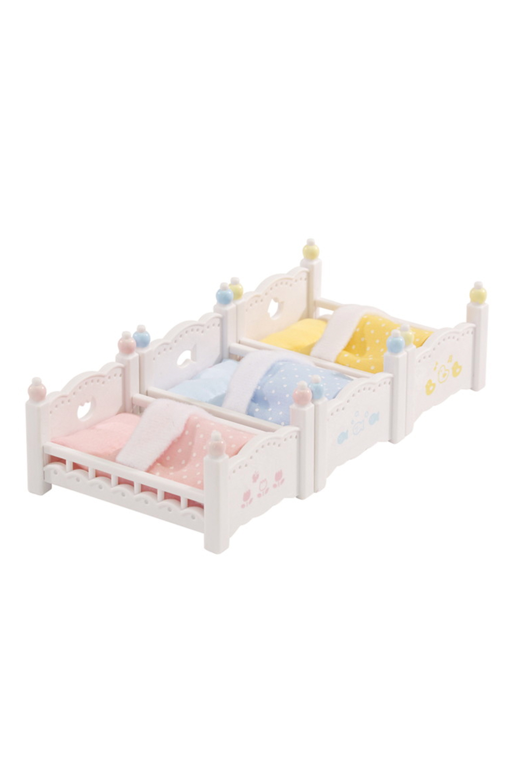 Calico Critters Triple Baby Bunk Beds - Side Cropped Image