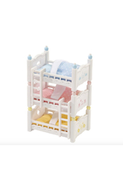 Calico Critters Triple Baby Bunk Beds - Product Mini Image
