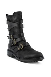 Spring Footwear Triple Buckle Bootie - Product Mini Image
