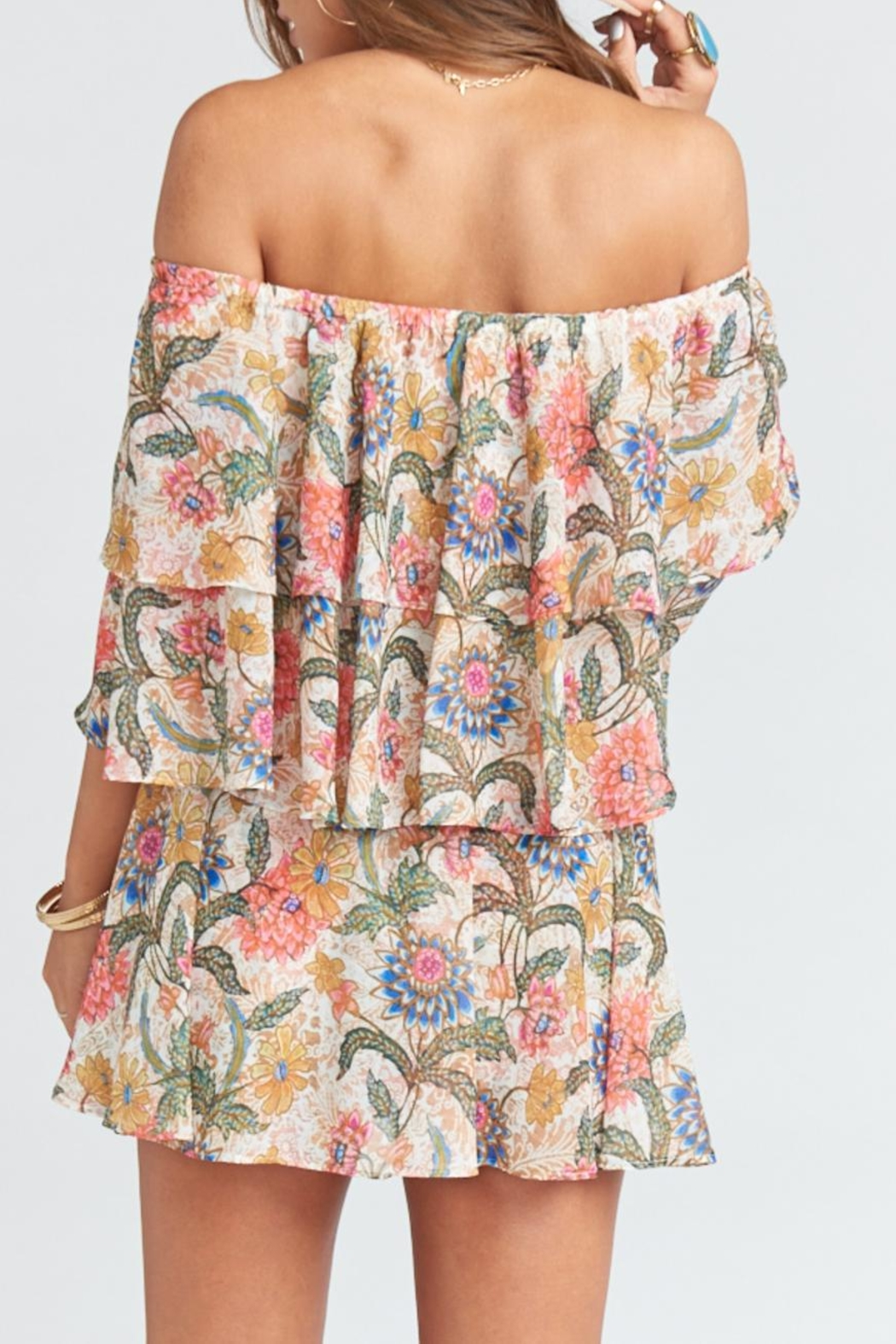 Show Me Your Mumu Triple Decker Romper - Side Cropped Image