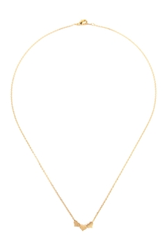 Shoptiques Product: Triple-Heart Cast-Pendant-Necklace