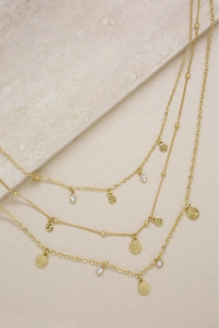 Shoptiques Product: Triple Layer Necklace