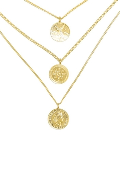 Eduardo Sanchez Triple Layered Necklace - Product List Image