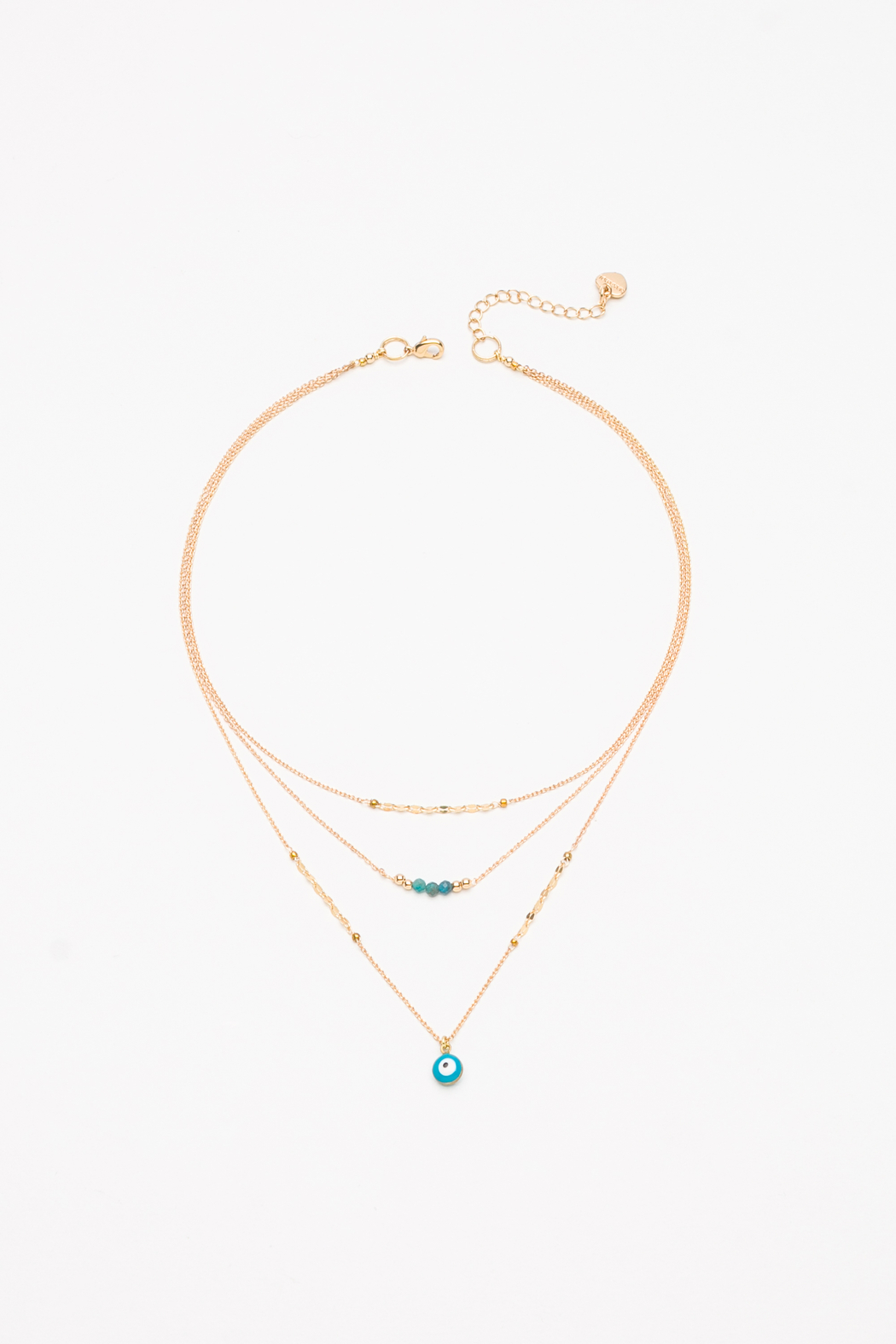 Nakamol  Triple Layered Necklace - Front Cropped Image
