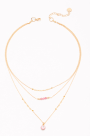 Nakamol  Triple Layered Necklace - Front cropped