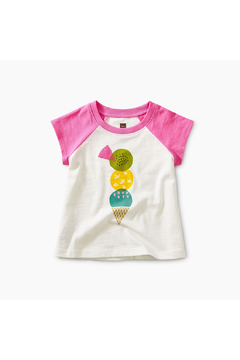 Shoptiques Product: Triple Treat Baby Graphic Tee