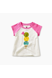 Tea Collection Triple Treat Baby Graphic Tee - Front cropped
