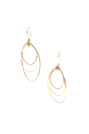 By Philippe Triple Twisted Circles Earrings Sterling Silver - Product Mini Image