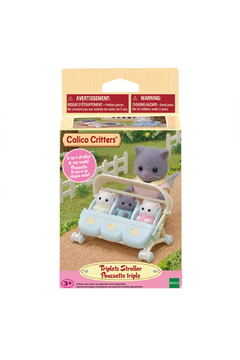 Calico Critters Triplet Baby Stroller - Product List Image