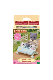 Calico Critters Triplet Baby Stroller - Product Mini Image