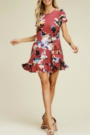 Izzie's Boutique Trish Berry Dress - Side cropped