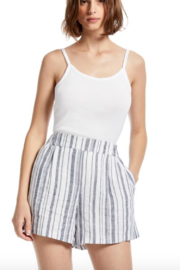 Michael Stars Trisha High-Waisted Pleated Shorts - Product Mini Image