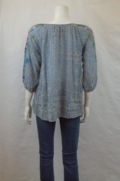 Johnny Was Collection Trista Blouse - Alternate List Image