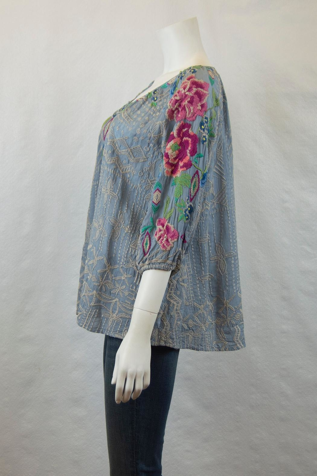 Johnny Was Collection Trista Blouse - Front Full Image