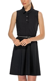 TRISTAN Black Belted Dress - Product Mini Image