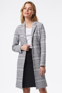 TRISTAN Fitted Knit Jacket - Product List Image