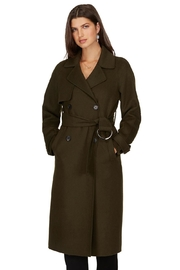 TRISTAN Wool Blend Trench - Product Mini Image