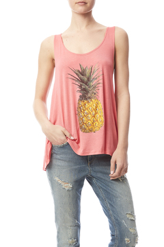 Shoptiques Product: Pineapple Graphic Tank