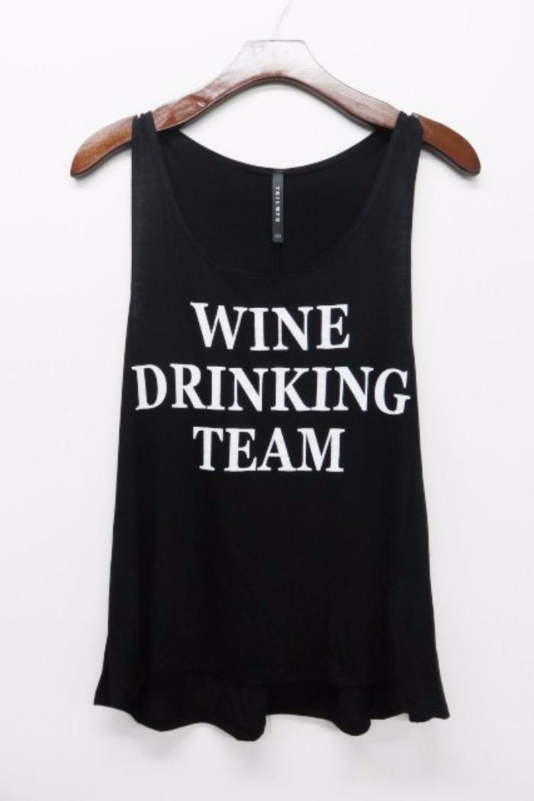 Triumph Wine Team Tank - Front Cropped Image