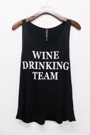 Triumph Wine Team Tank - Front cropped